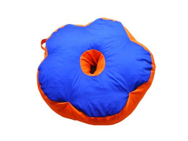Мягкий бескаркасный пуф «Цветок» кресло пудушка