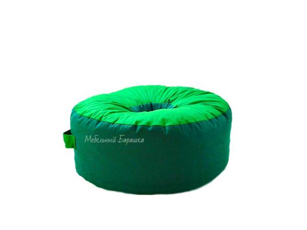 Мягкий бескаркасный пуф «Пончик» кресло мешок-подушка на пол