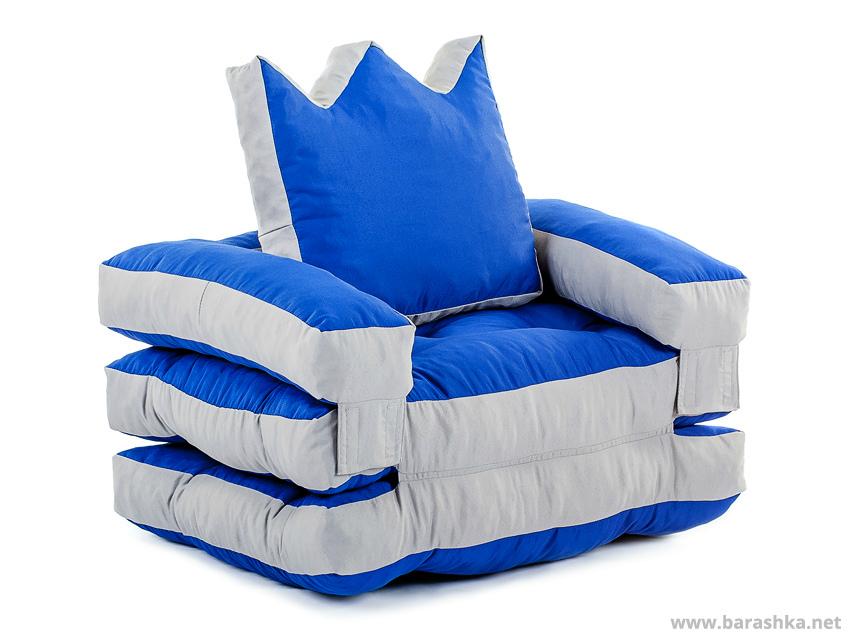 бескаркасное раскладное кресло царь