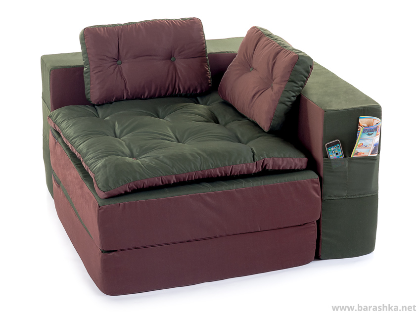 бескаркасный диван угловой модульный
