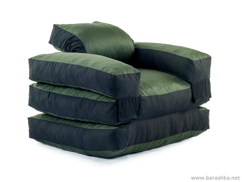 раскладное бескаркасное кресло в кровать