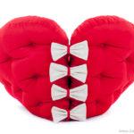 мягкое кресло сердце